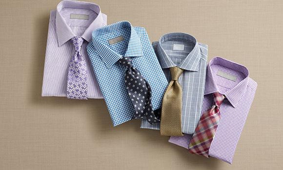 Hemden und Krawatten bei Breuninger