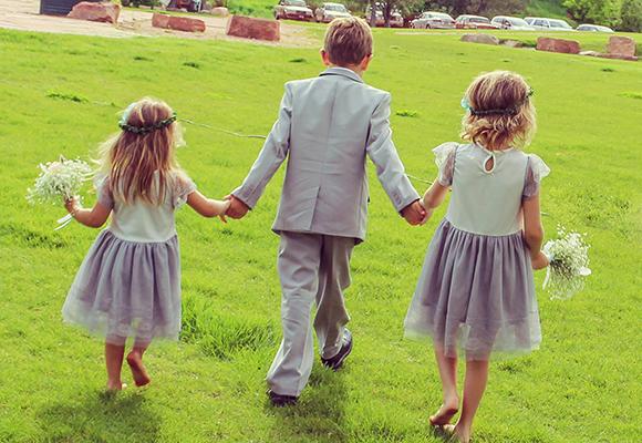 Kinder als Hochzeitsgäste