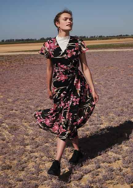 Florale Kleider