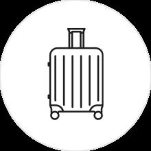 Mittlere Koffer