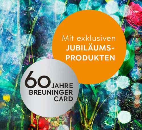 60 Jahre Breuninger Card Jubiläumsangebote