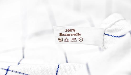 Blusen bügeln - 100 Prozent Baumwolle