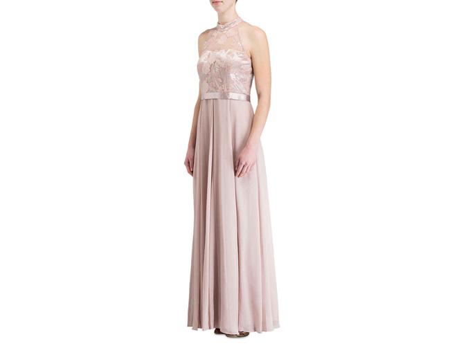 Neckholder-Kleid: Bezaubernd feminin