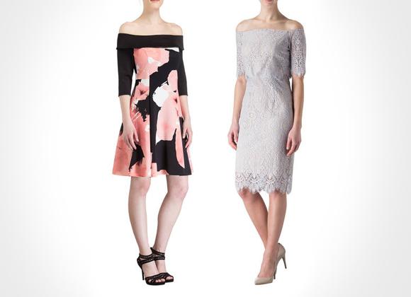 Schulterfreies Kleid bei Breuninger