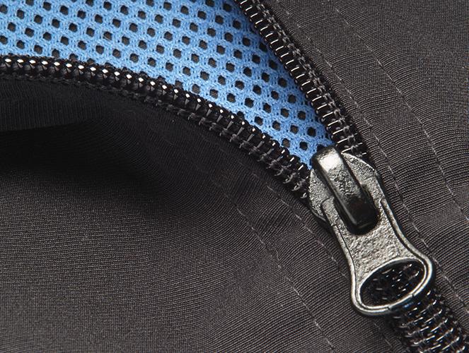 Polyamid im Blickpunkt - Zipper Close-up