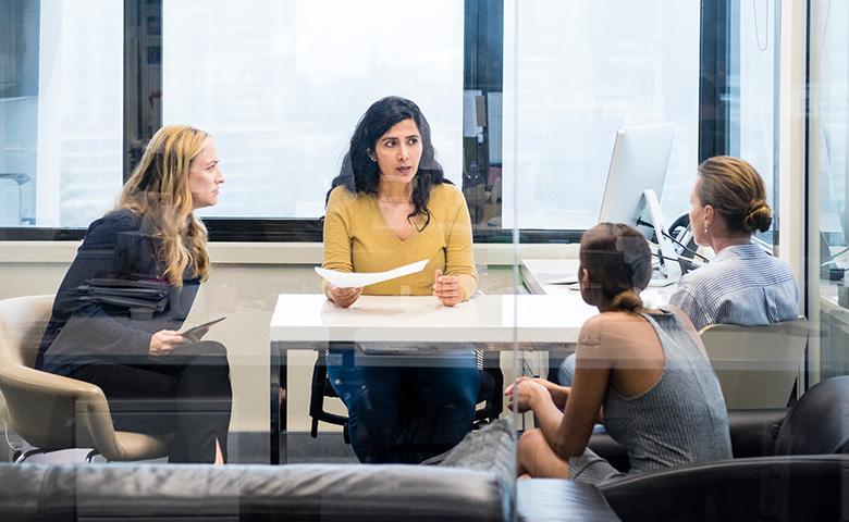 Women In Business Inisghts - Women's Boardway wird vorgestellt