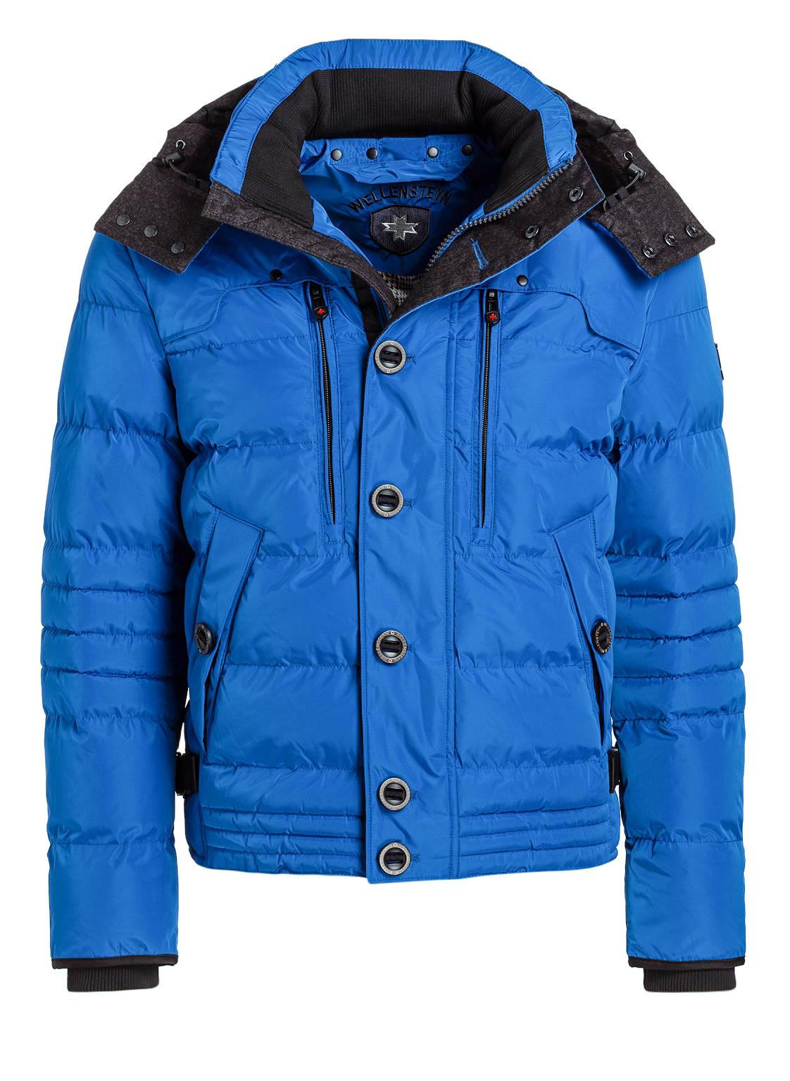 Nike winterjacke herren blau