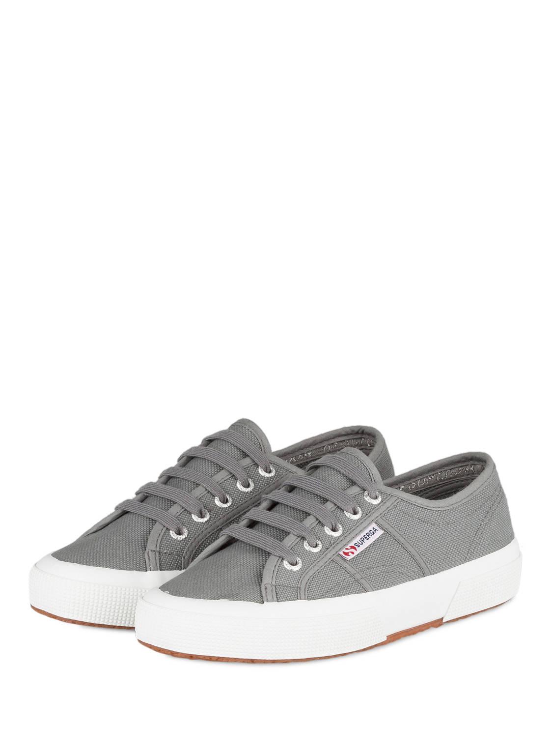 Sneaker aus Gummi in Schwarz für Damen, Größe 40 Superga