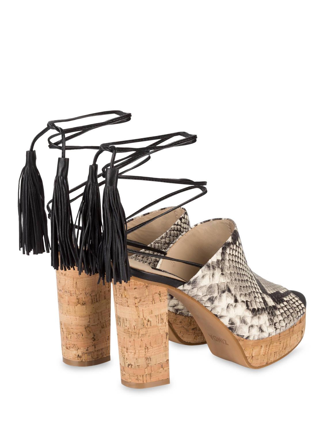 zinda plateau sandalen elena nora beige g nstig schnell einkaufen. Black Bedroom Furniture Sets. Home Design Ideas