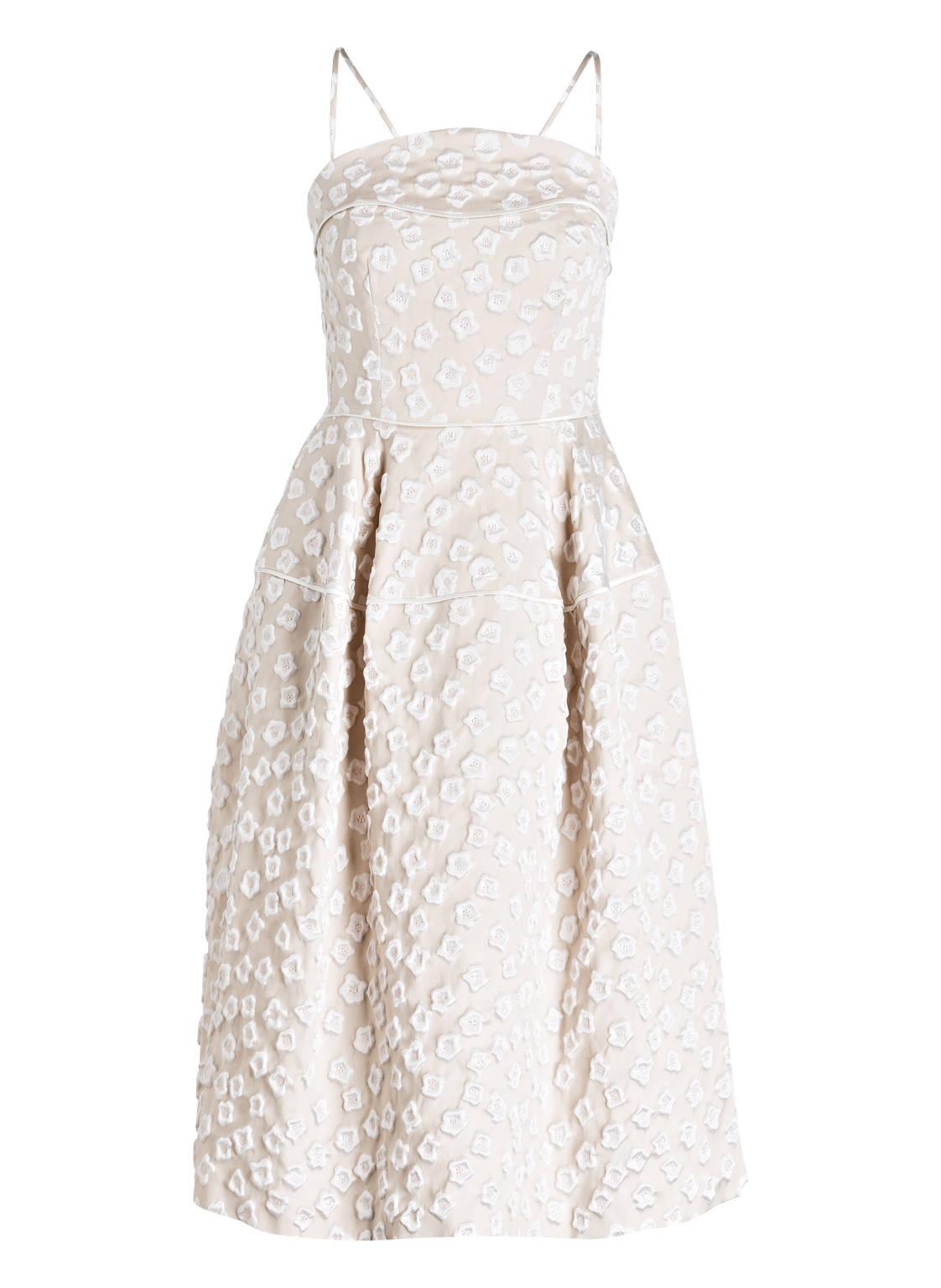 Artikel klicken und genauer betrachten! - Für vornehme Ladys ist dieses elegante Kleid LORBEER1 von TALBOT RUNHOF wie gemacht! Die aufgestickten Blüten mit Glanz-Effekt sorgen für eine dekorative Optik. Ein satter Schimmer veredelt das Modell. Auf dieses Fashion-Juwel möchten Sie nicht verzichten! Details: Taillierter Schnitt. Bustier mit Gummi. Schließt mit nahtfeinem Reißverschluss auf der Rückseite. Blütenstickerei mit Glanzeffekt. Gefüttert. Maße bei Größe 36: Gesamtlänge ab Schulter: 112 cm. Brustweite: 88 cm. Taillenweite: 68 cm. | im Online Shop kaufen