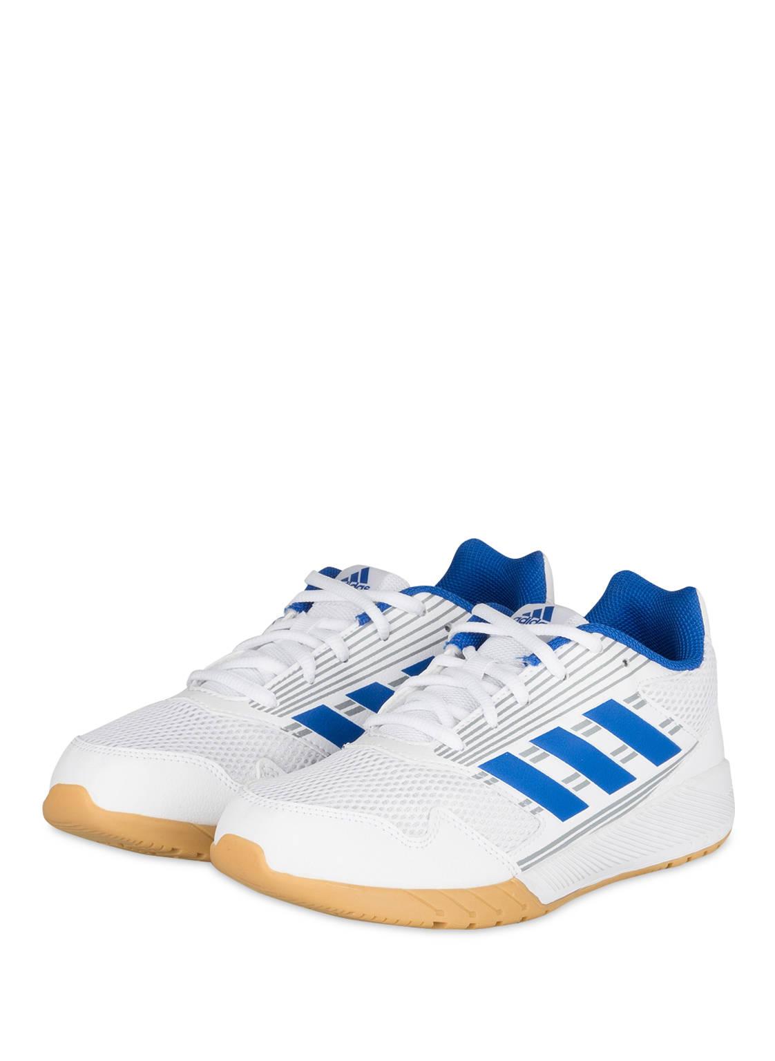 adidas RapidaRun Laufschuhe Kinder - Gedämpfte Laufschuhe ASH BLUE S18/TRACE R 4 80TNcUI
