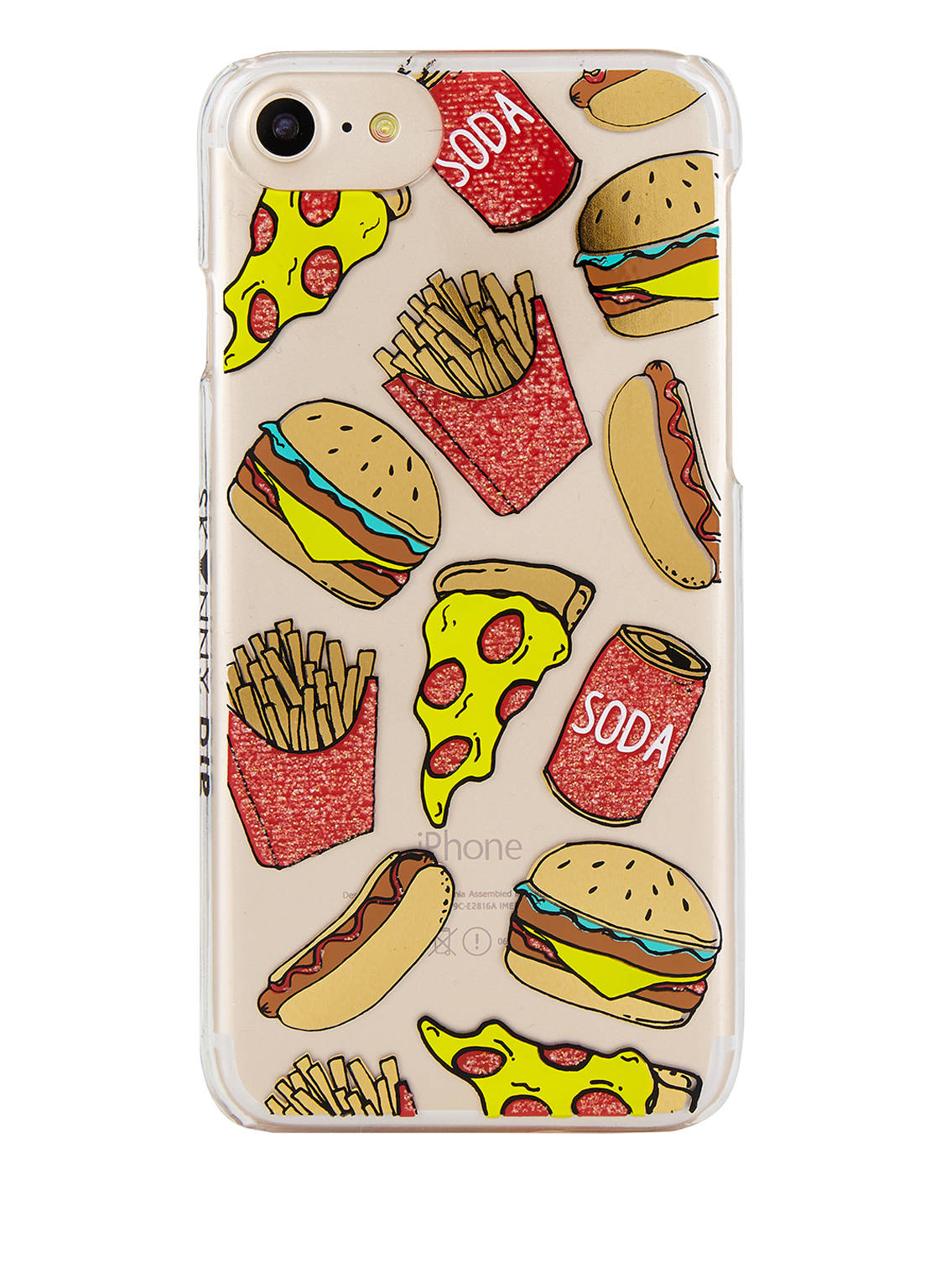 SKINNYDIP iPhone-Hülle JUNK FOOD