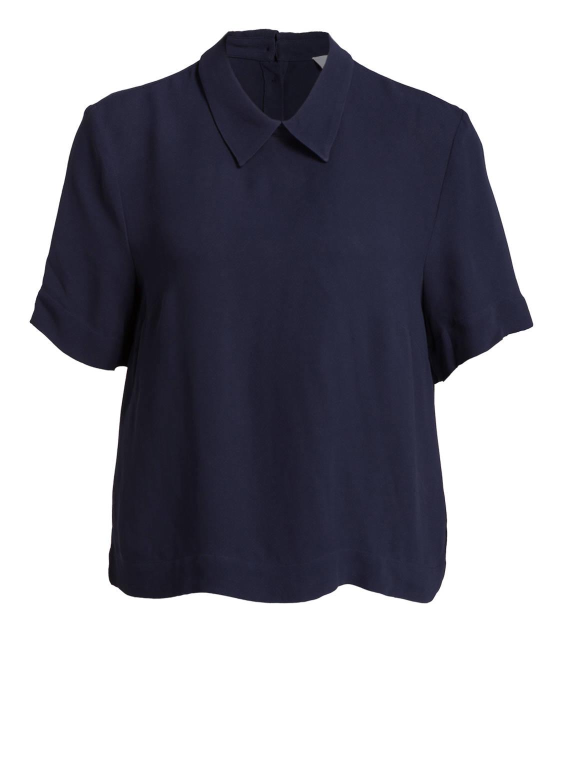 Artikel klicken und genauer betrachten! - Mit der zarten Bluse BINE von 2 NDDAY setzen Sie sowohl feminine, als auch klassische Akzente. Durch eine klare Linie sowie einen luftig-leichten Material-Mix ist Ihnen ein unbeschwertes Tragegefühl garantiert. Kombinieren Sie diese klassische Bluse zur Jeans, et voilà! Details: Gerader Schnitt. Umlegekragen. Verkürzte Ärmel. Verdeckte Knopfleiste auf der Rückseite. Weiche Haptik. Maße bei Größe 36: Rückenlänge ab Schulter: 58 cm. | im Online Shop kaufen