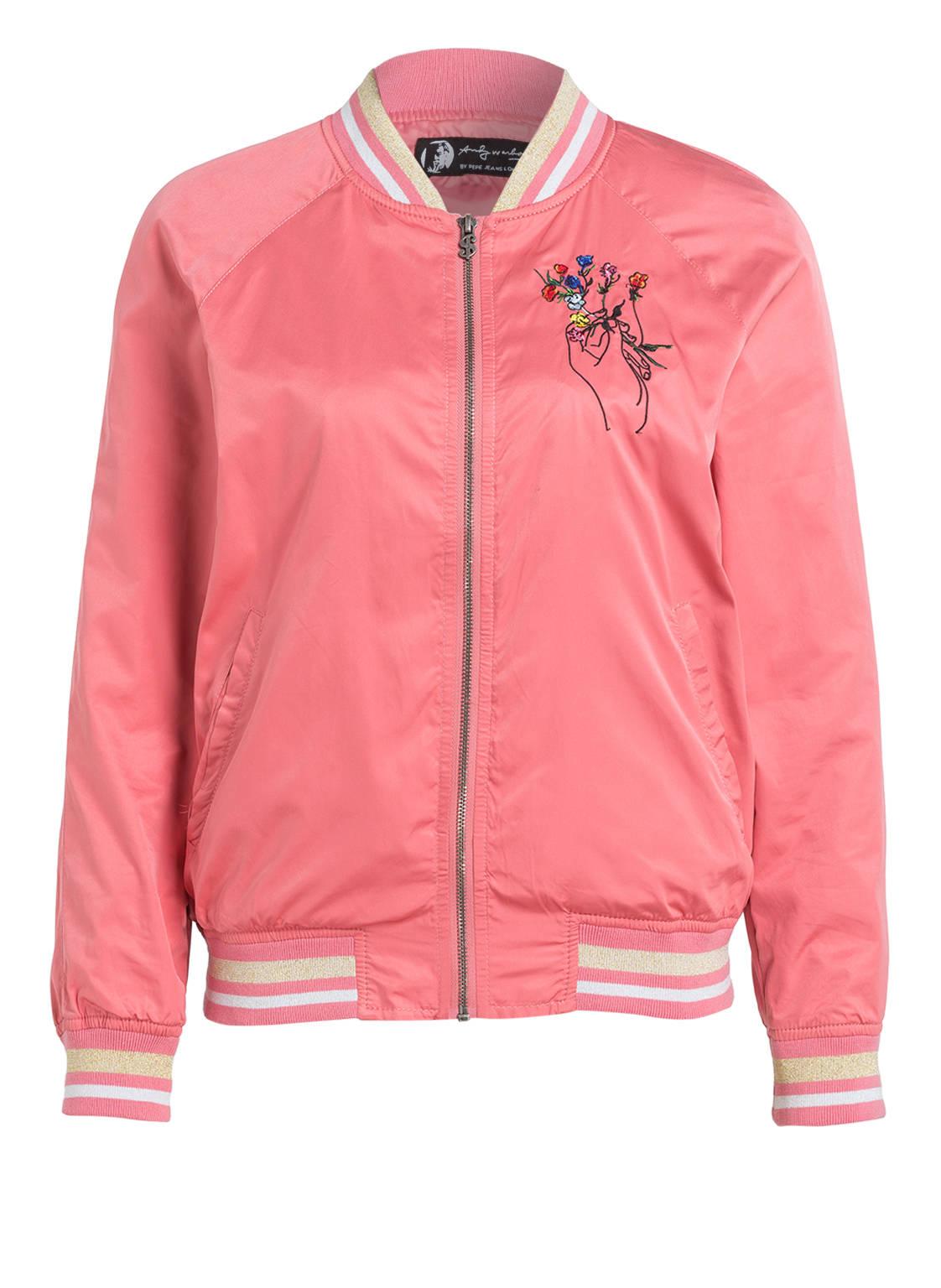 Bomberjacke damen pink
