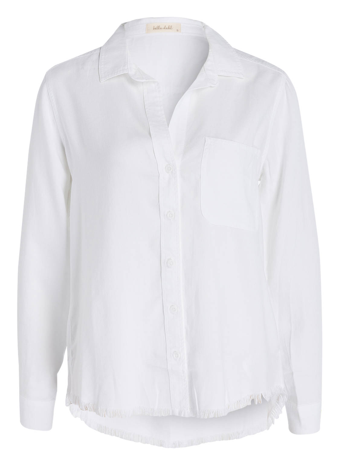 Image of Bella Dahl Bluse weiss