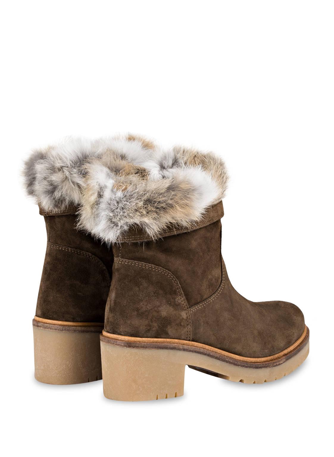 Alpe Boots mit Fellbesatz IK5DwbXBcq