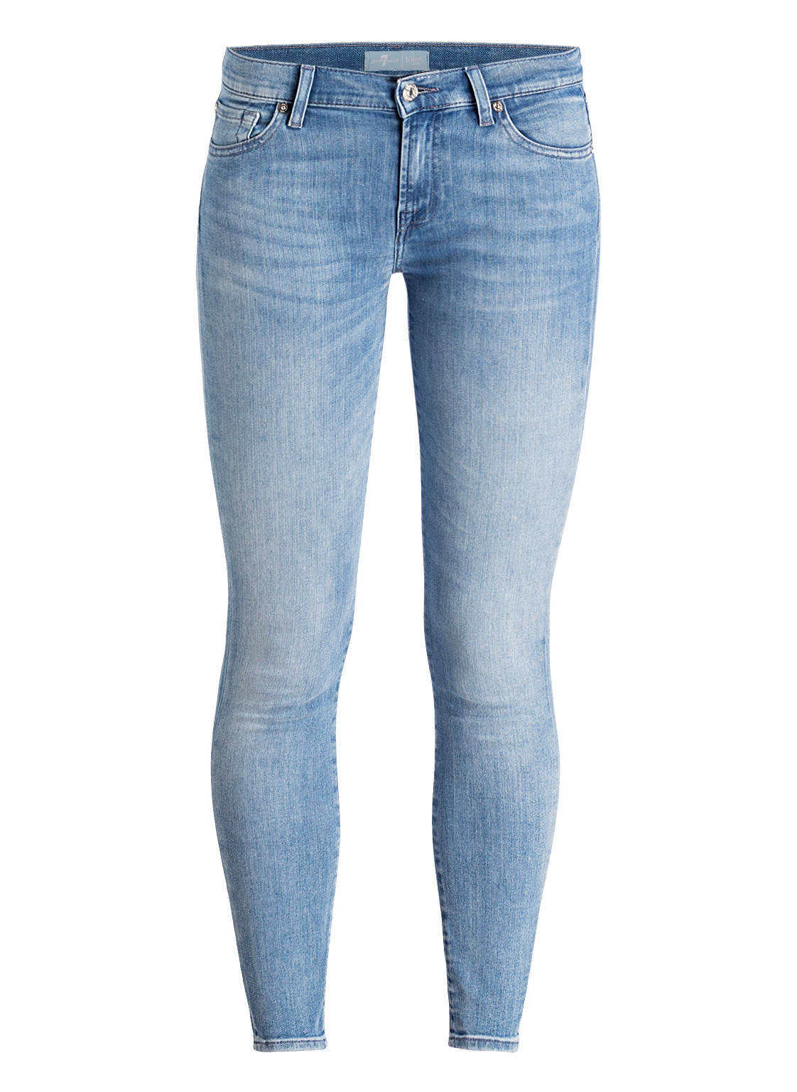 Image of 7 For All Mankind 7/8-Jeans The Skinny Crop blau