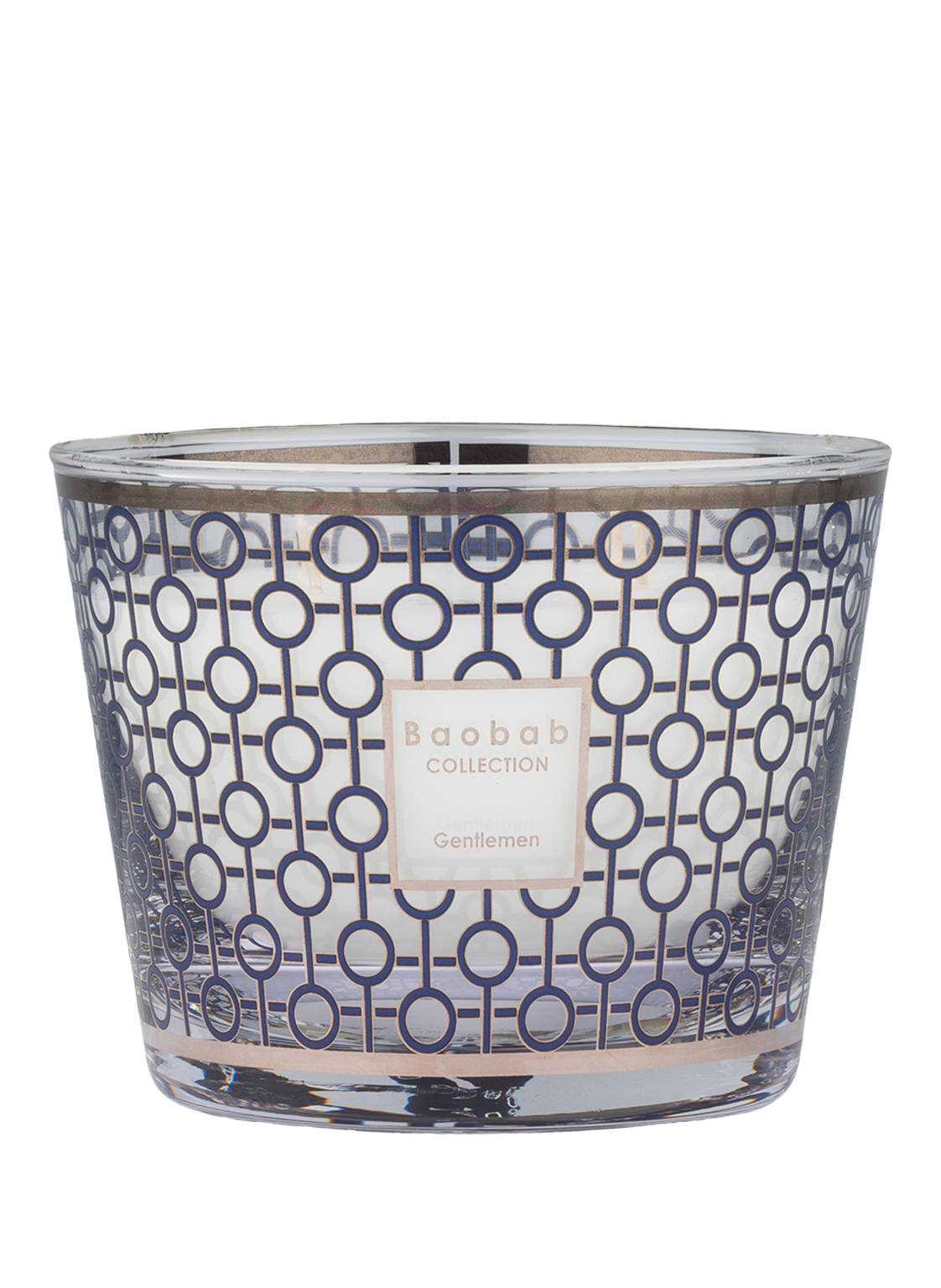 Image of Baobab Collection Duftkerze Gentlemen blau