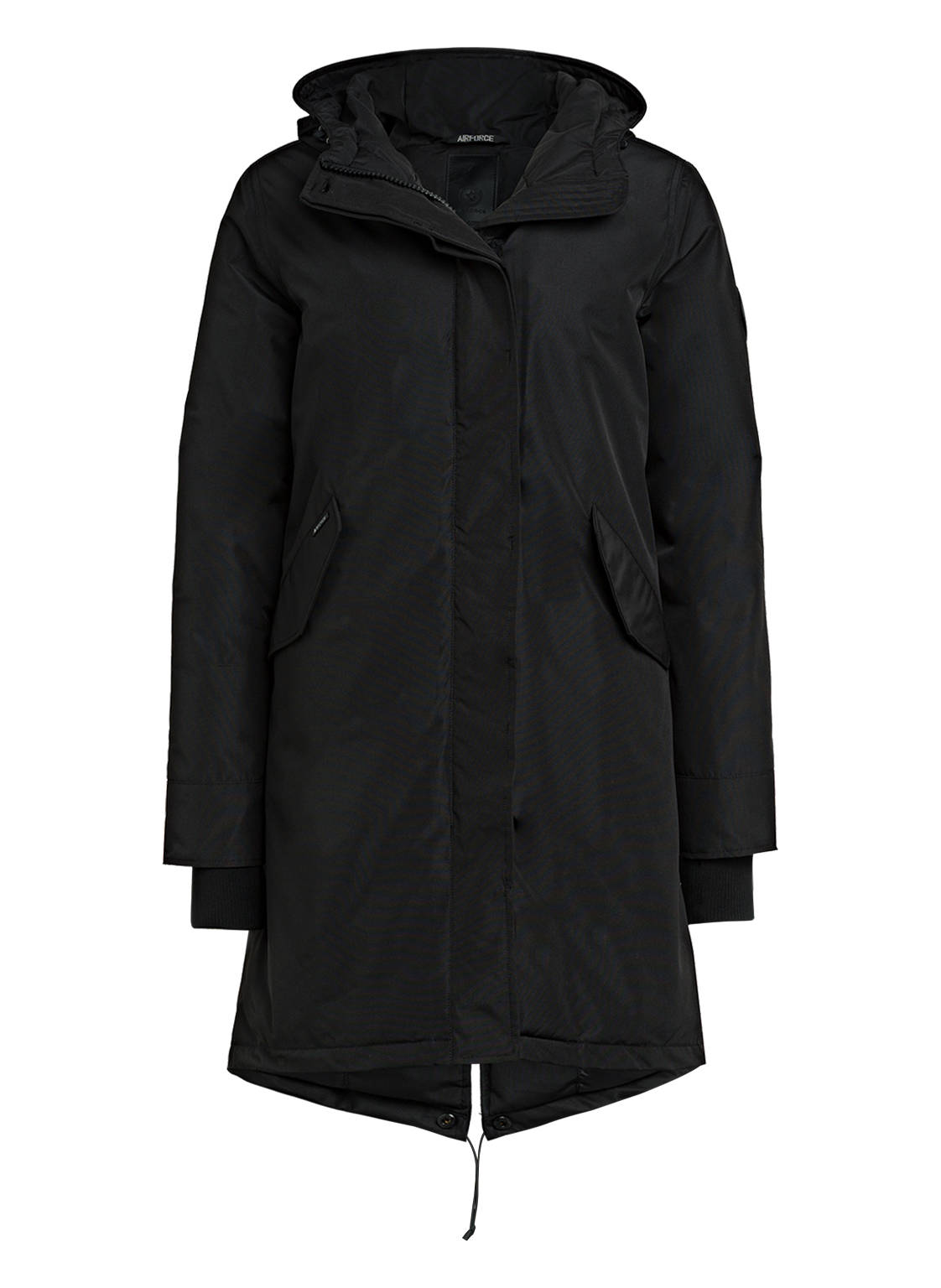 Image of Airforce Parka Fishtail schwarz