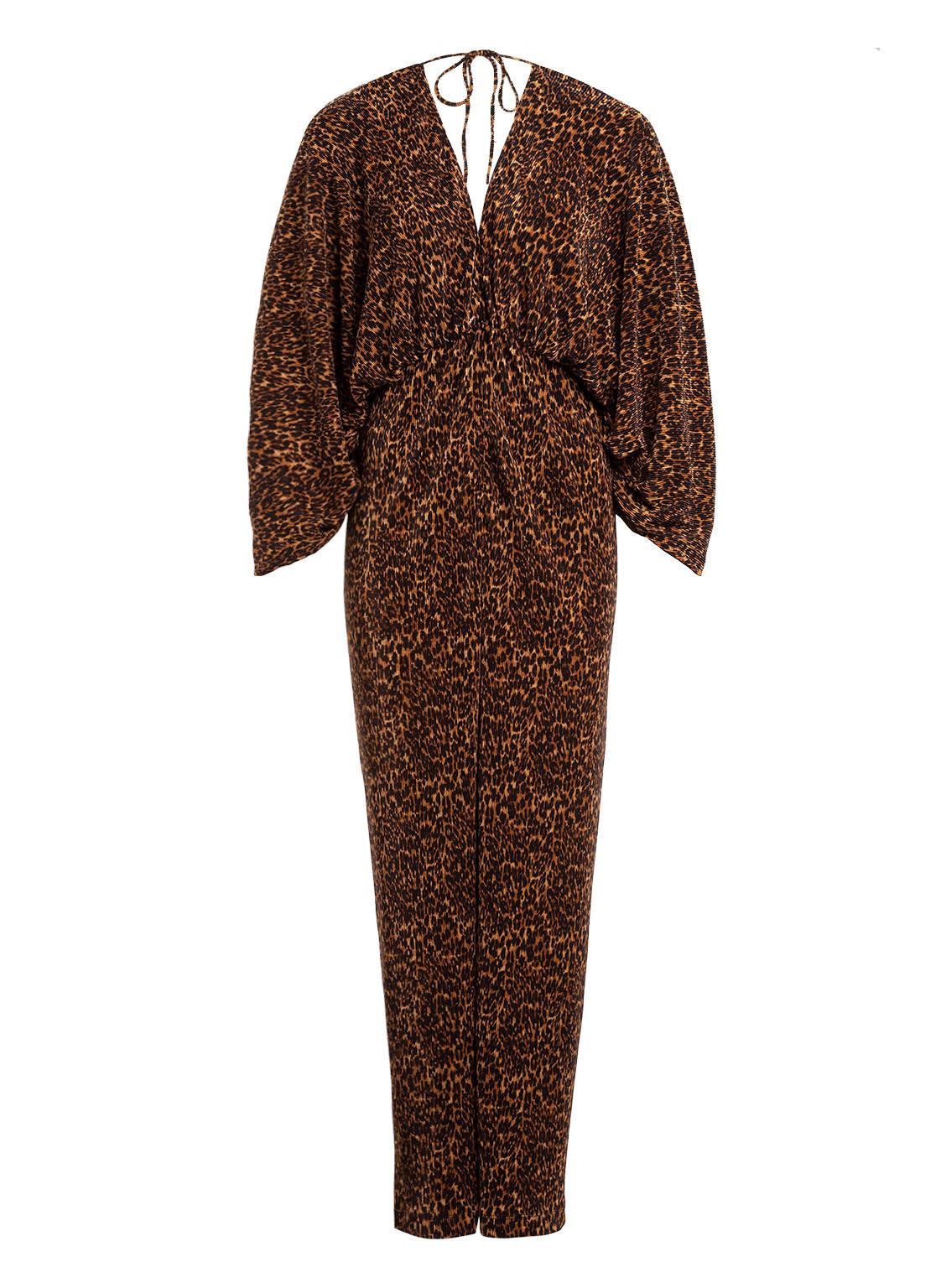 Image of Bardot Jumpsuit Leopard braun