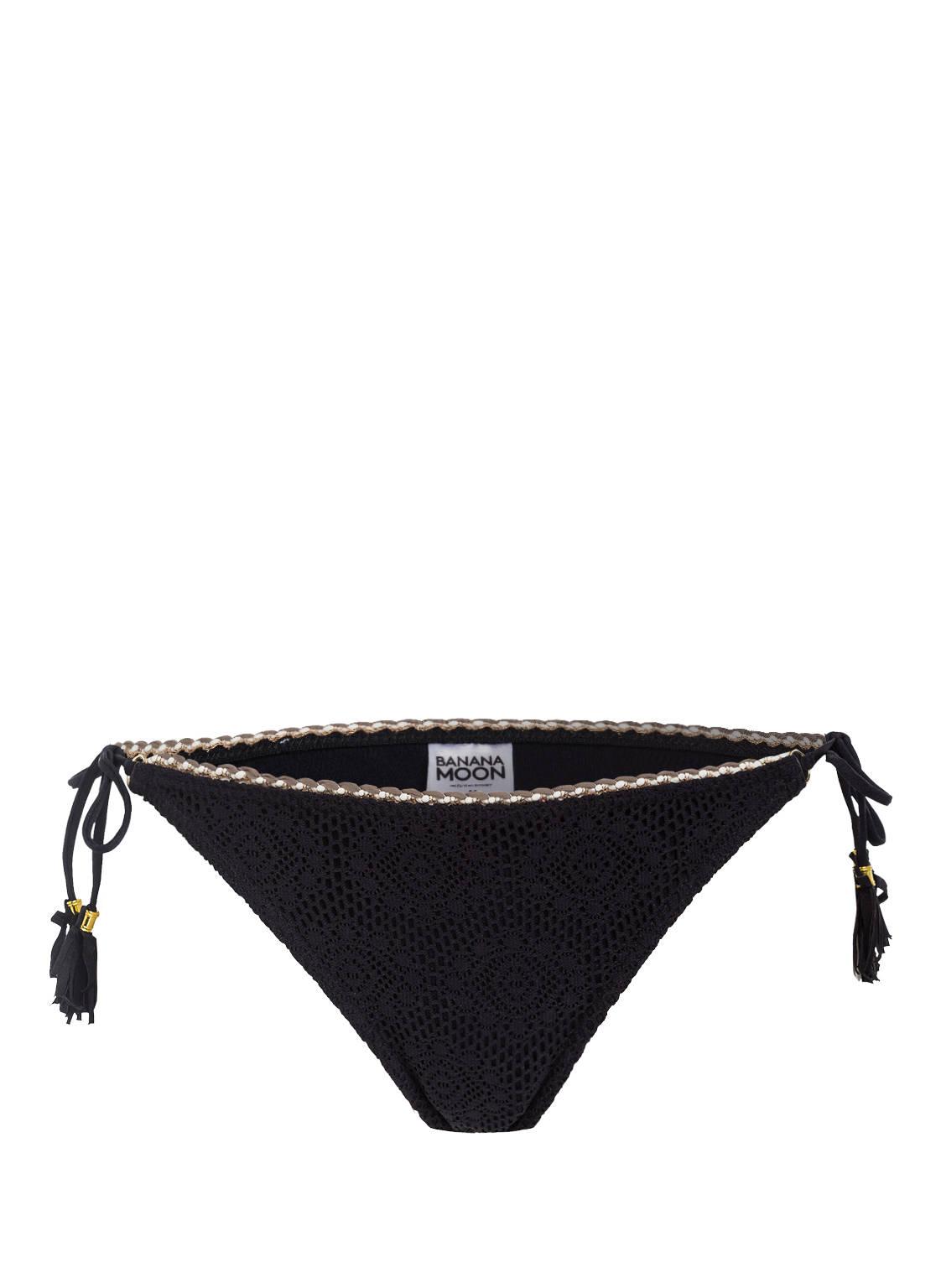 Image of Banana Moon Couture Bikini-Hose Galbia Crochet schwarz