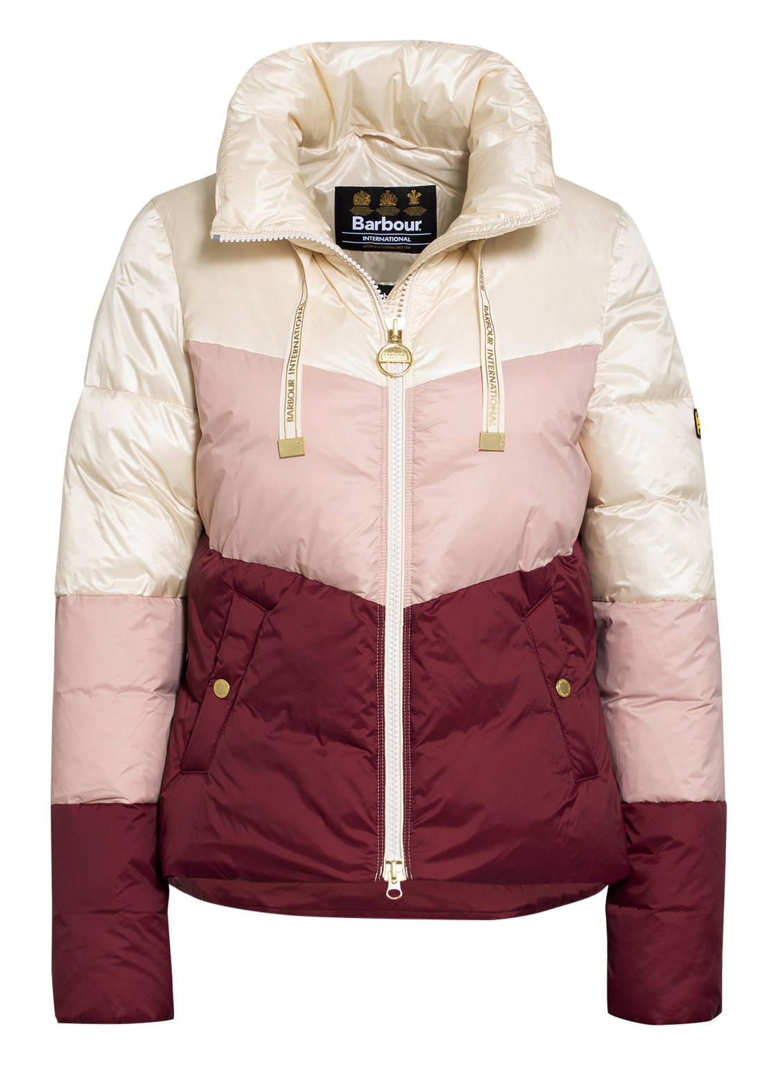 Image of Barbour International Steppjacke Kendrew Quilt rosa