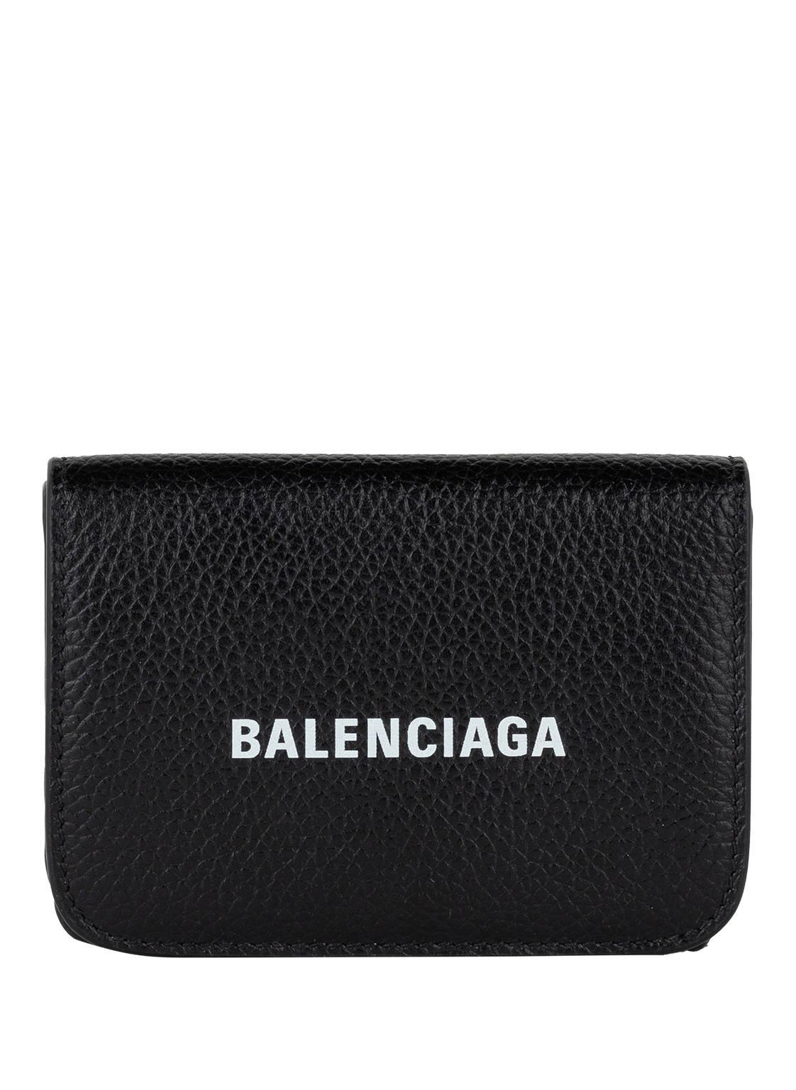 Image of Balenciaga Geldbörse Cash Mini schwarz
