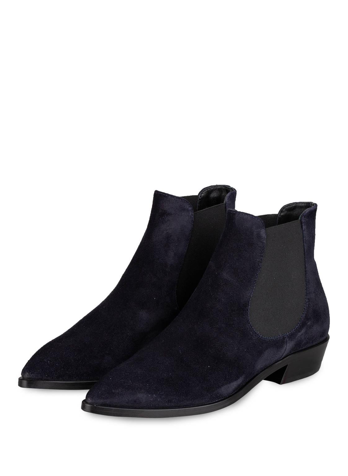 Image of Agl Attilio Giusti Leombruni Chelsea-Boots blau