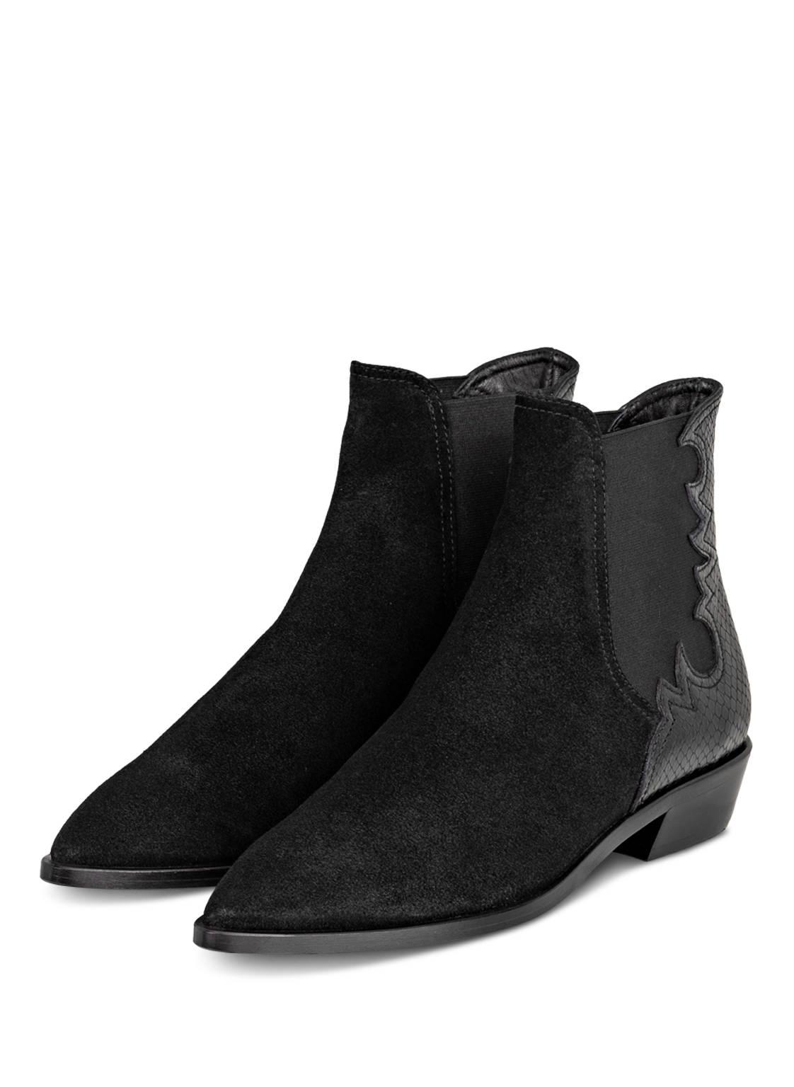Image of Agl Attilio Giusti Leombruni Chelsea-Boots schwarz