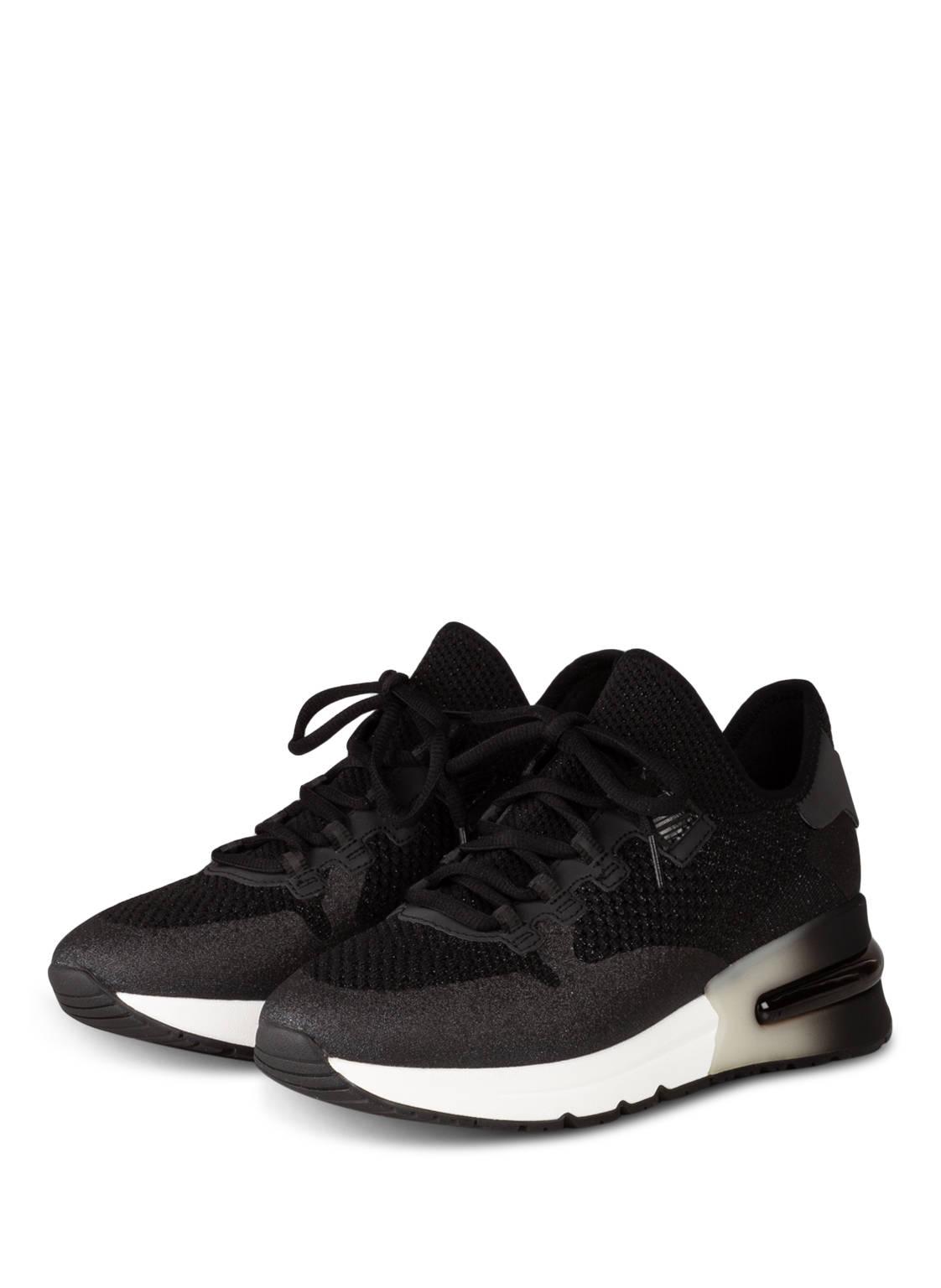 Image of Ash Plateau-Sneaker Krush Glitter schwarz
