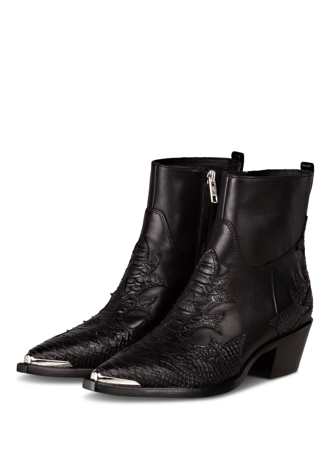 Image of Ash Cowboy Boots Django schwarz