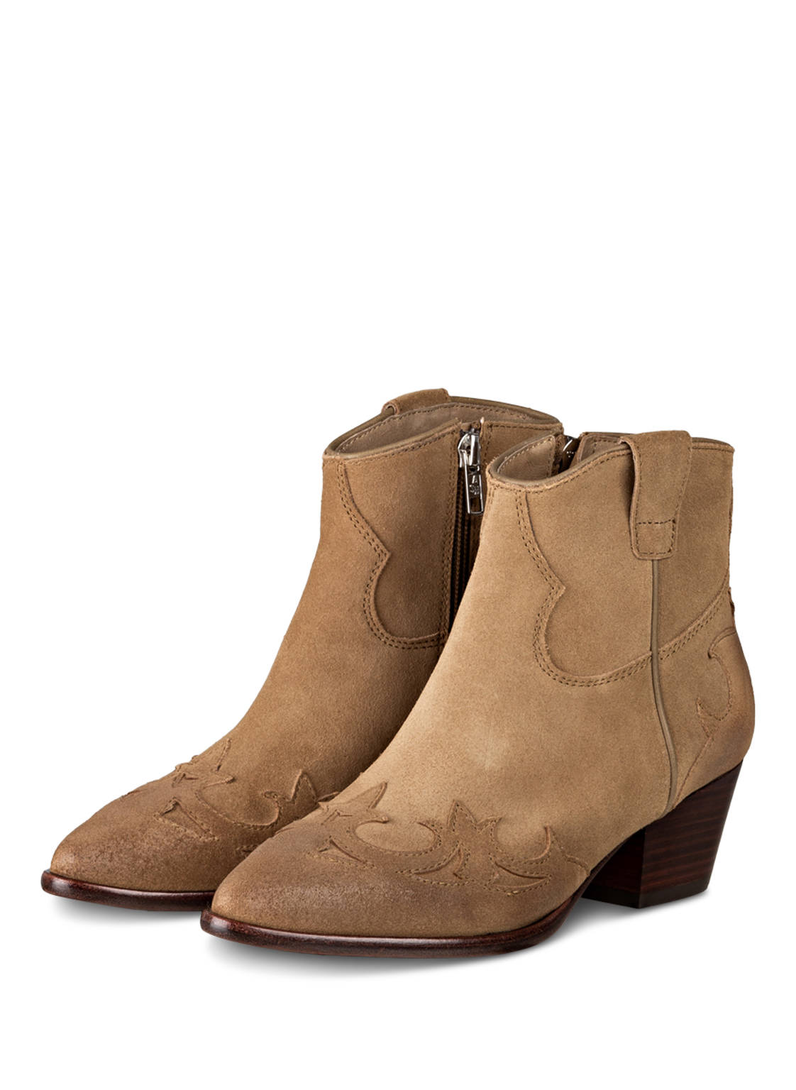 Image of Ash Cowboy Boots Harlow beige