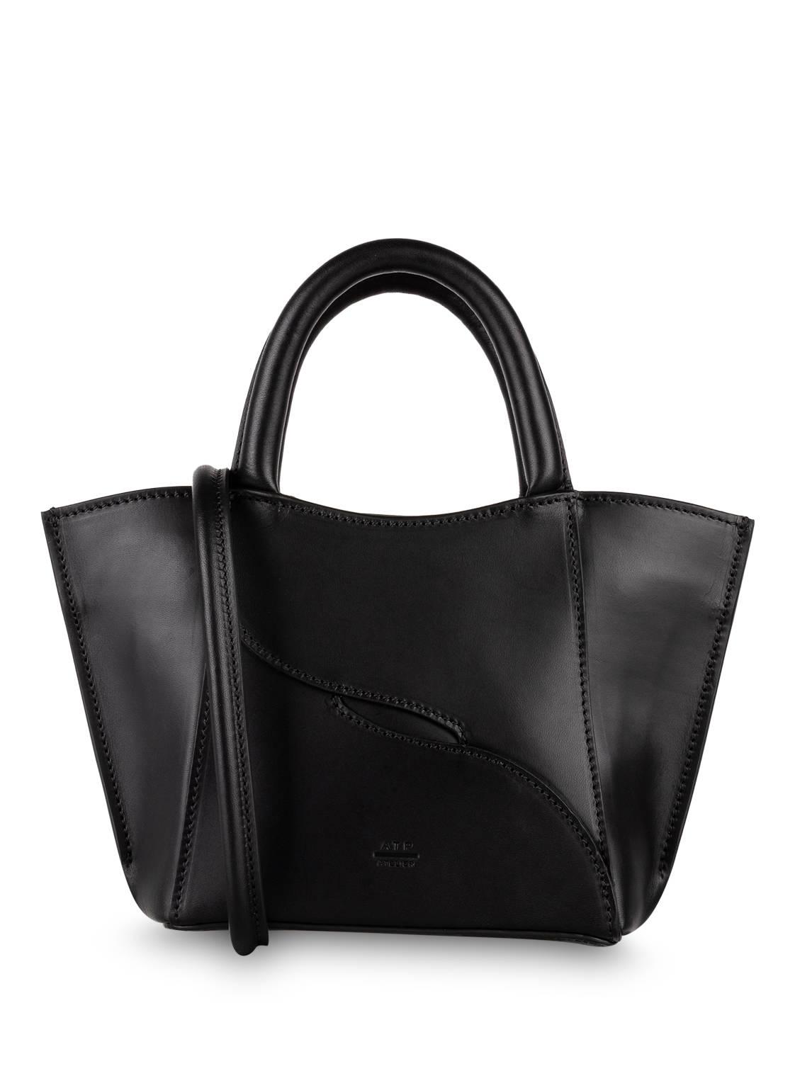 Image of Atp Atelier Mini Bag Leuca schwarz