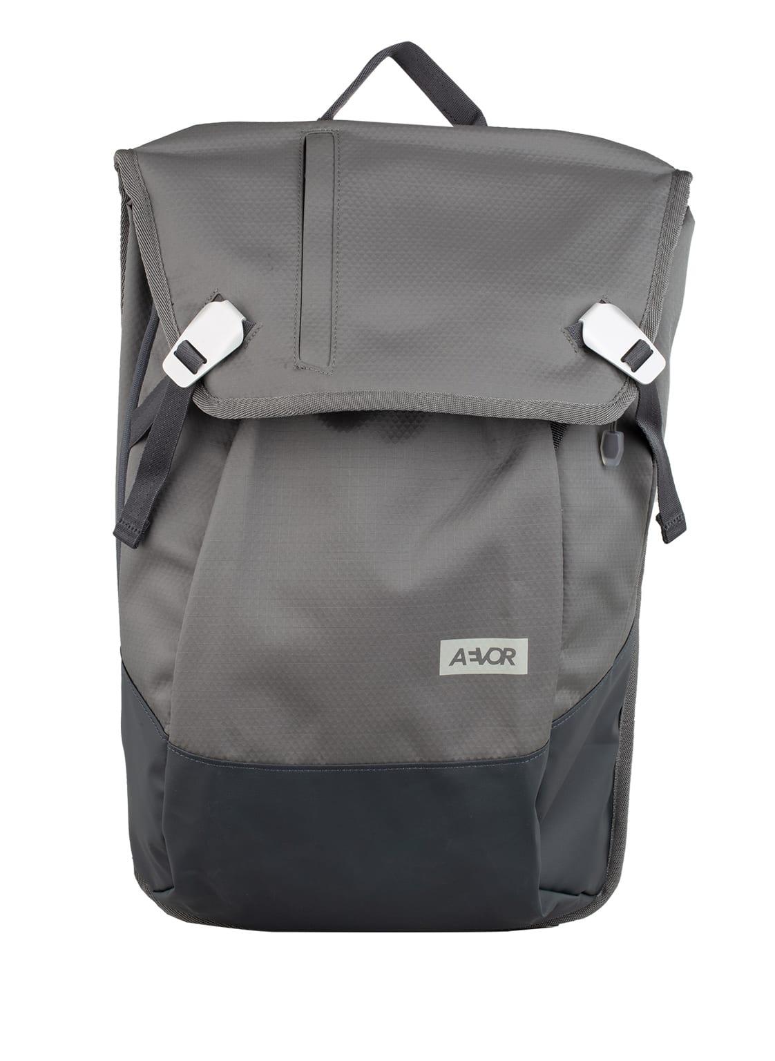 Image of Aevor Rucksack Daypack Proof 18 L (Erweiterbar Auf 28 L) Mit Laptop-Fach grau