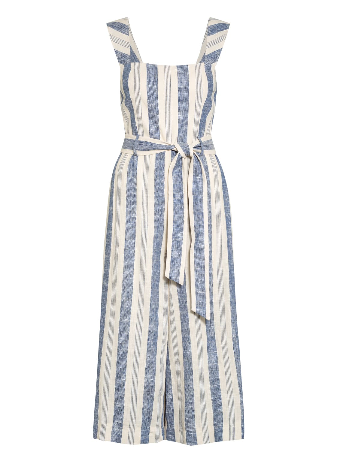 Image of Alice+Olivia Jumpsuit Marty Mit Leinen weiss