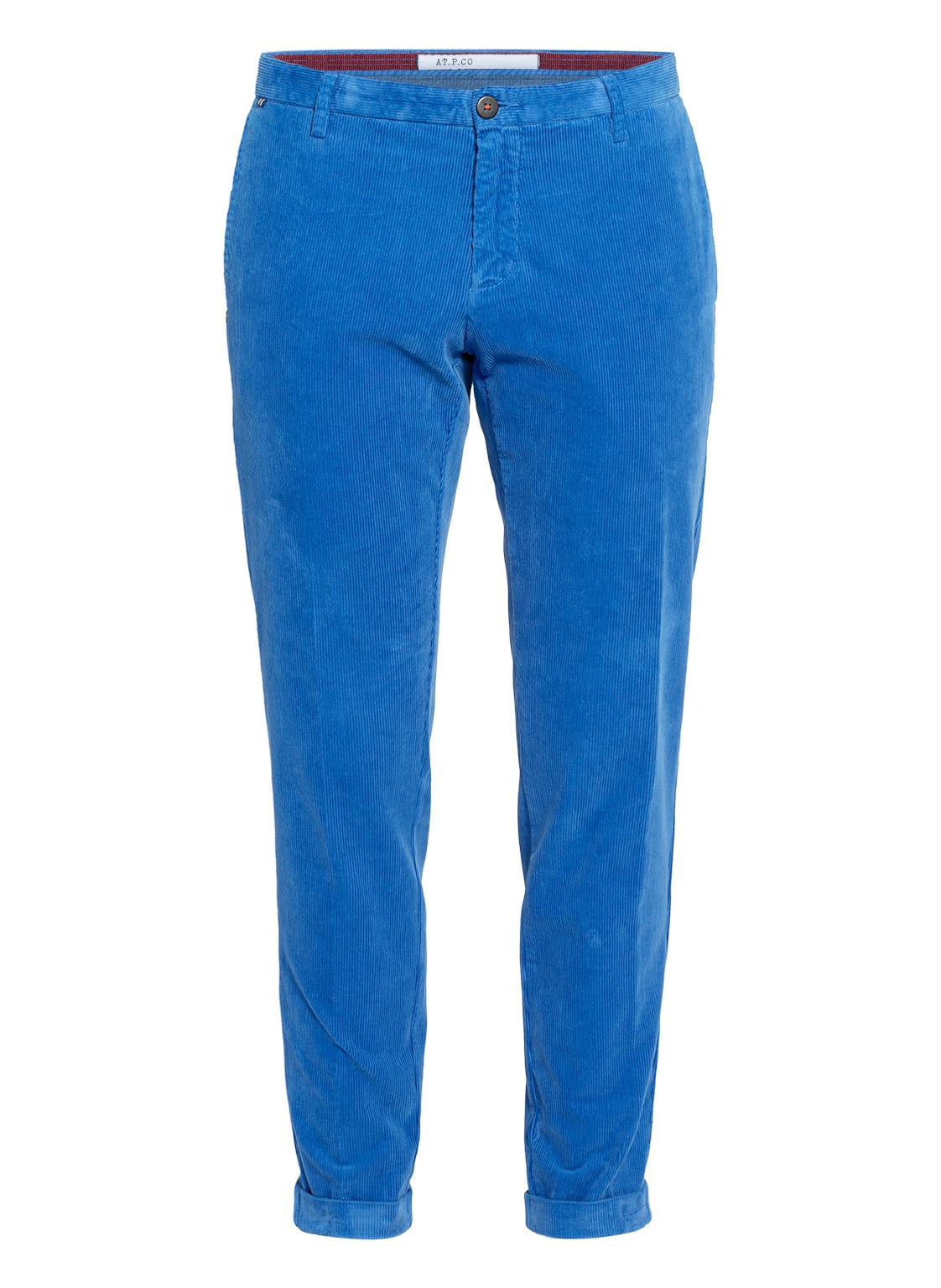Image of At.P.Co Cordhose Scott Extra Slim Fit blau
