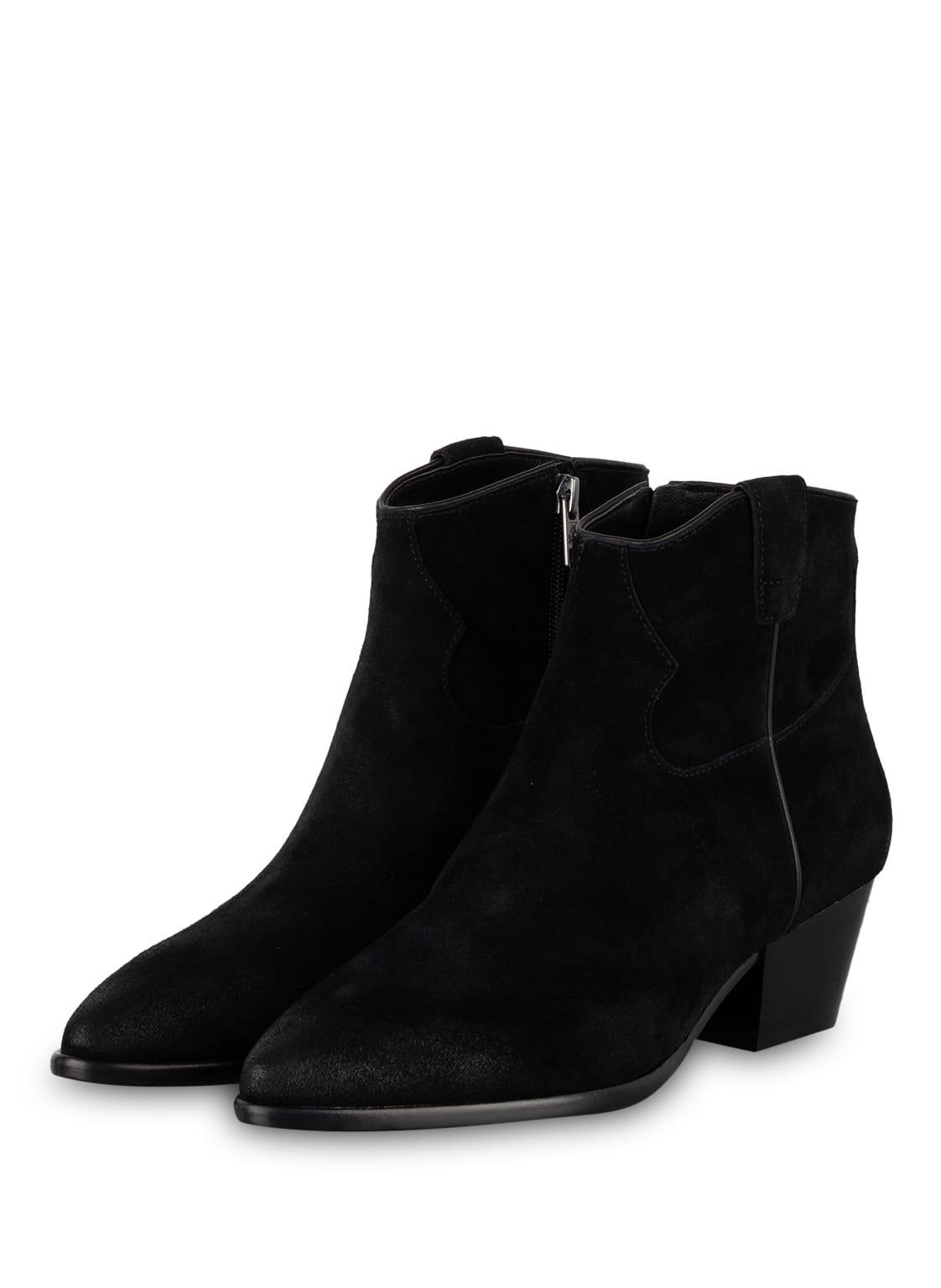 Image of Ash Cowboy Boots schwarz