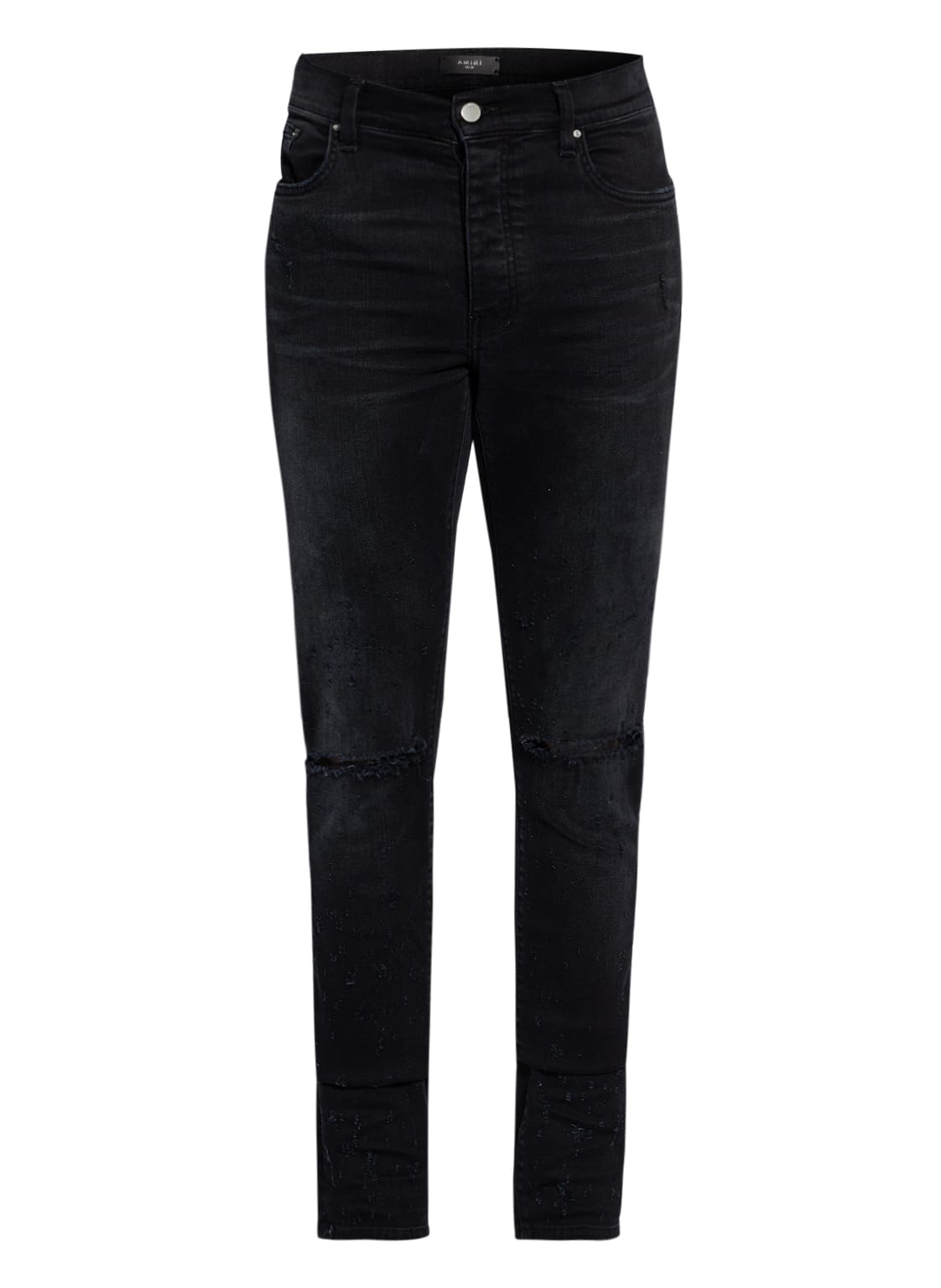 Image of Amiri Destroyed Jeans Slim Fit schwarz