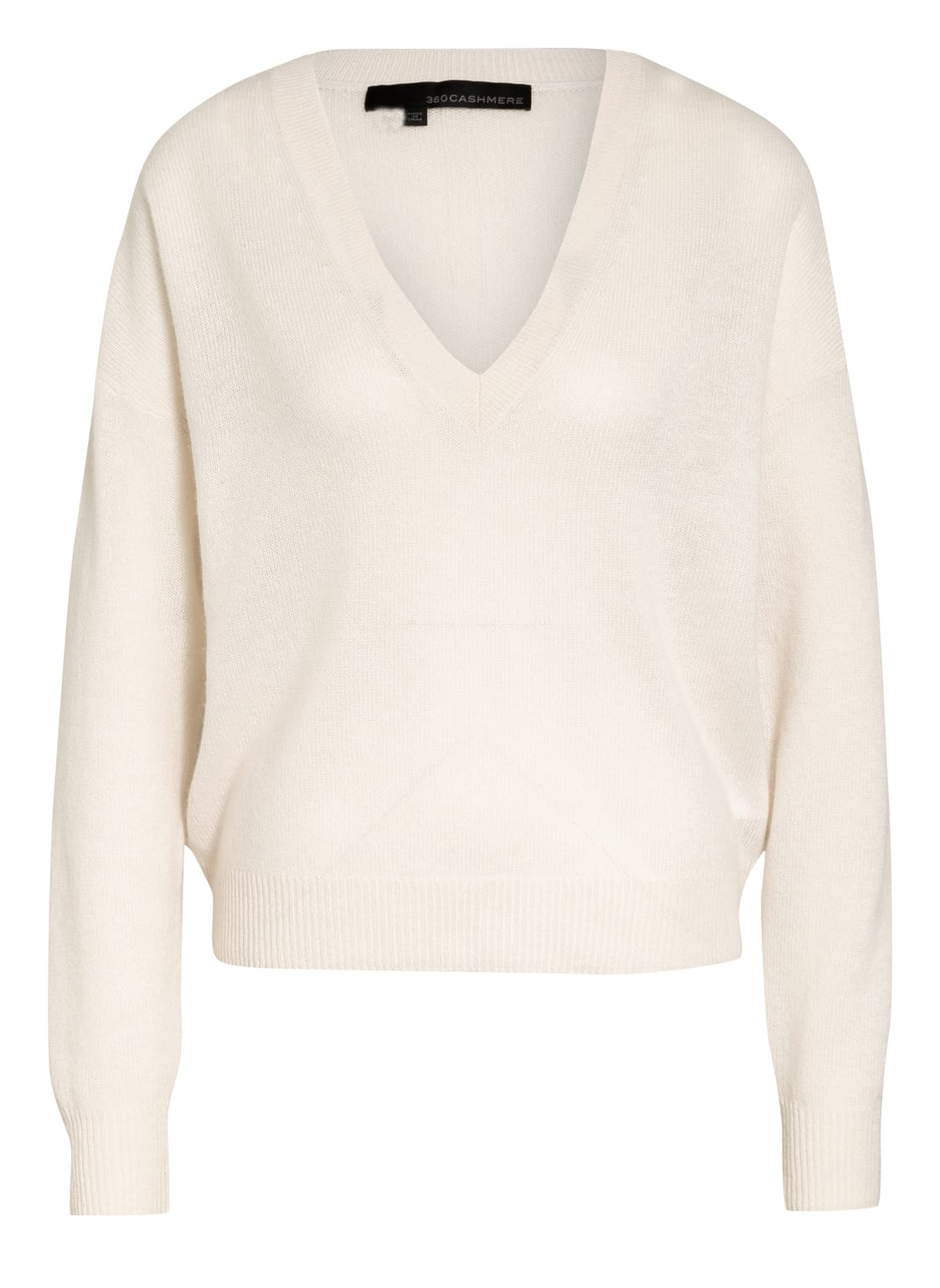 Image of 360cashmere Cashmere-Pullover Alexandria weiss