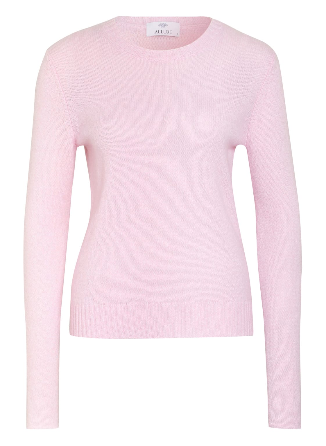 Image of Allude Cashmere-Pullover rosa