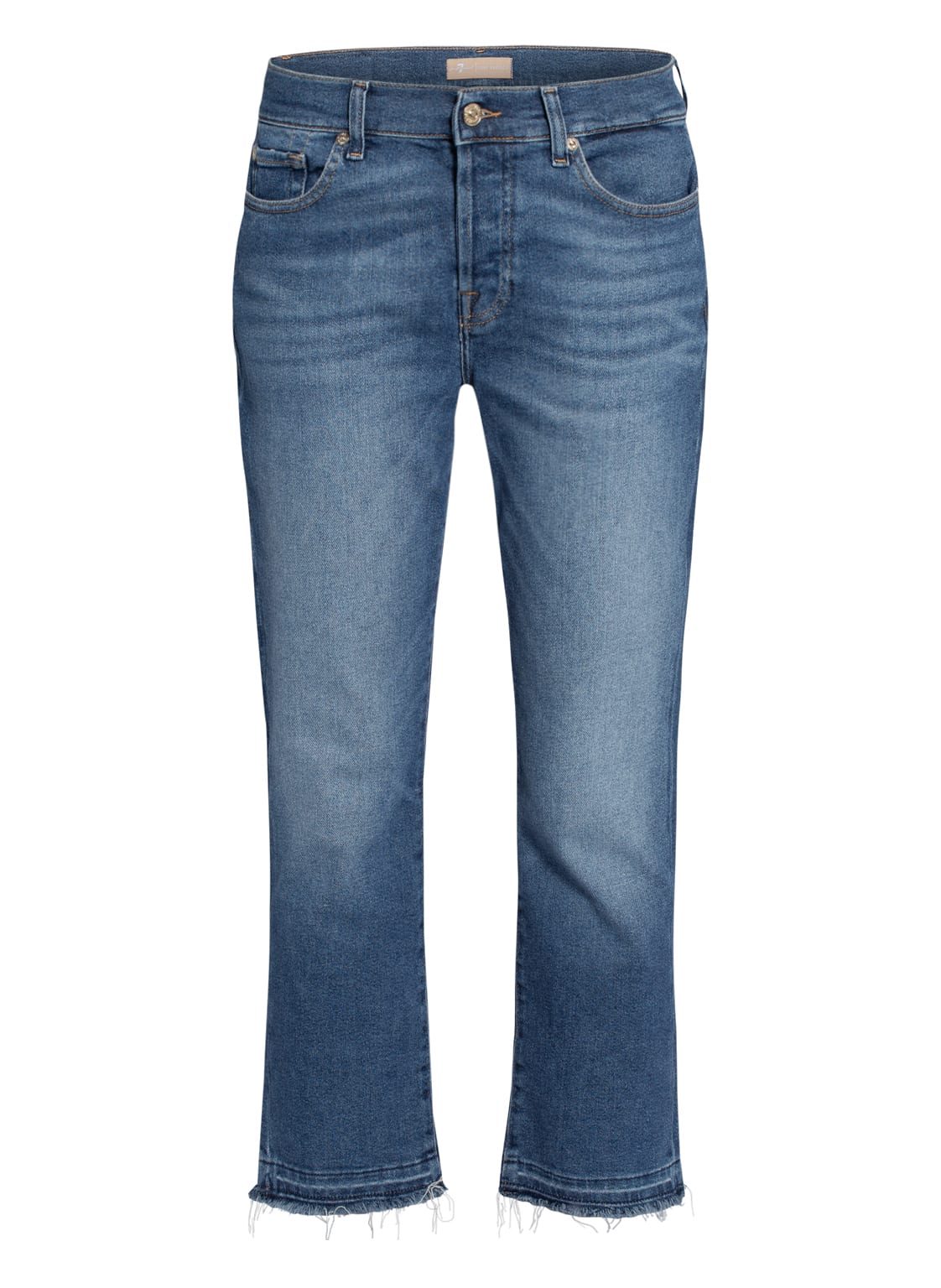 Image of 7 For All Mankind 7/8-Jeans Asher blau