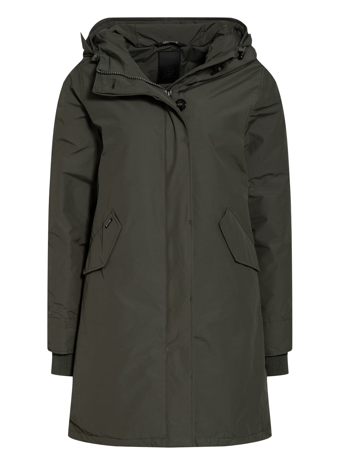 Image of Airforce Parka Fishtail gruen