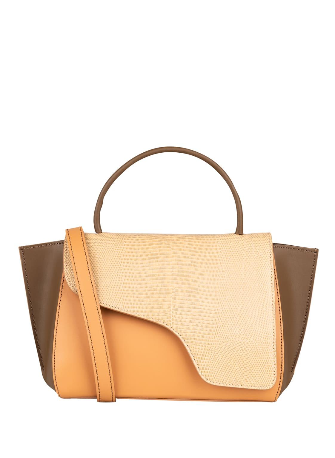 Image of Atp Atelier Handtasche Arezzo beige