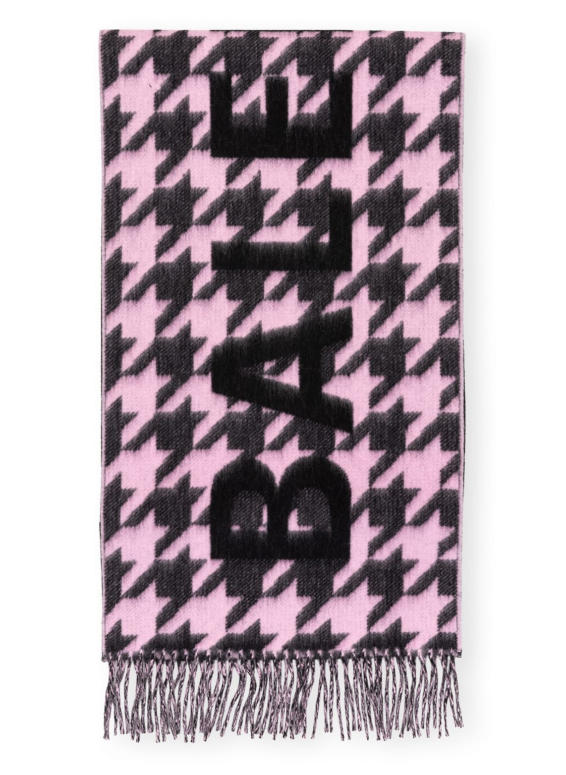 Image of Balenciaga Flanellschal pink