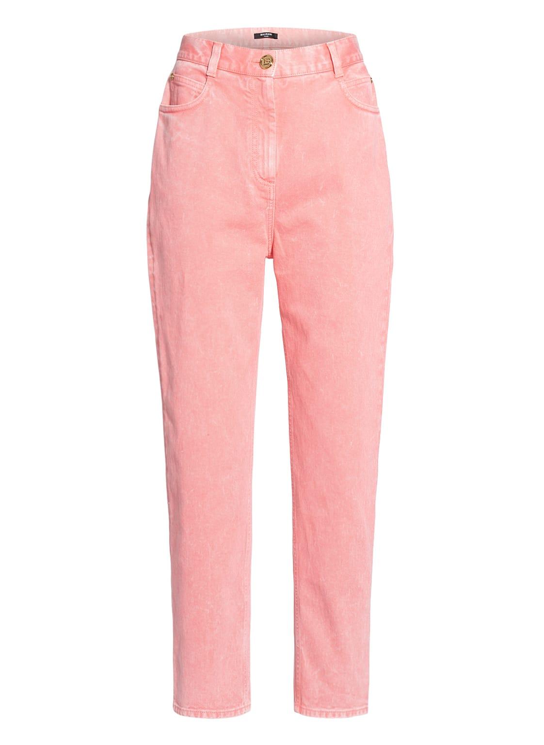 Image of Balmain 7/8-Jeans rosa