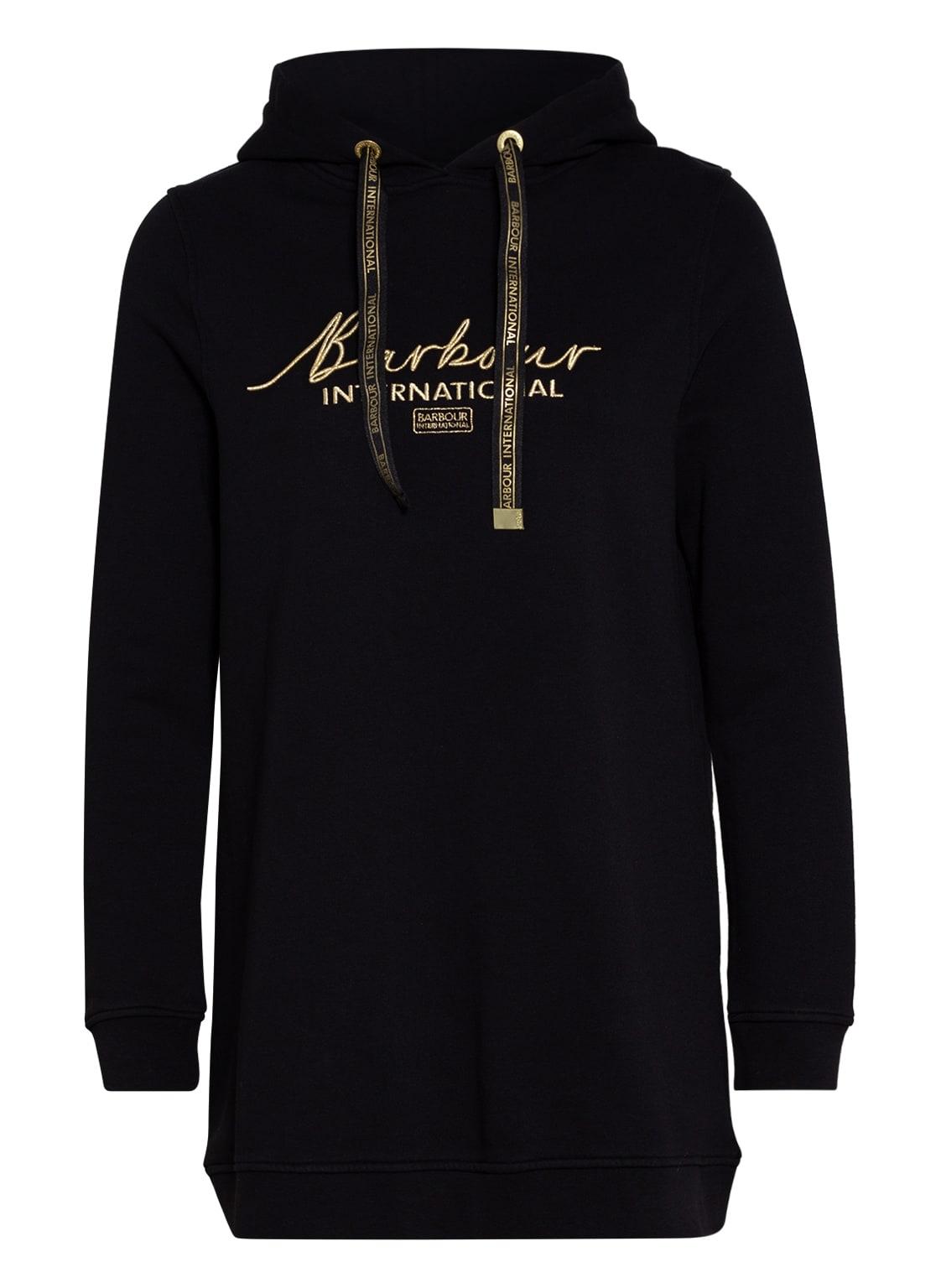 Image of Barbour International Sweatshirt Throttle schwarz