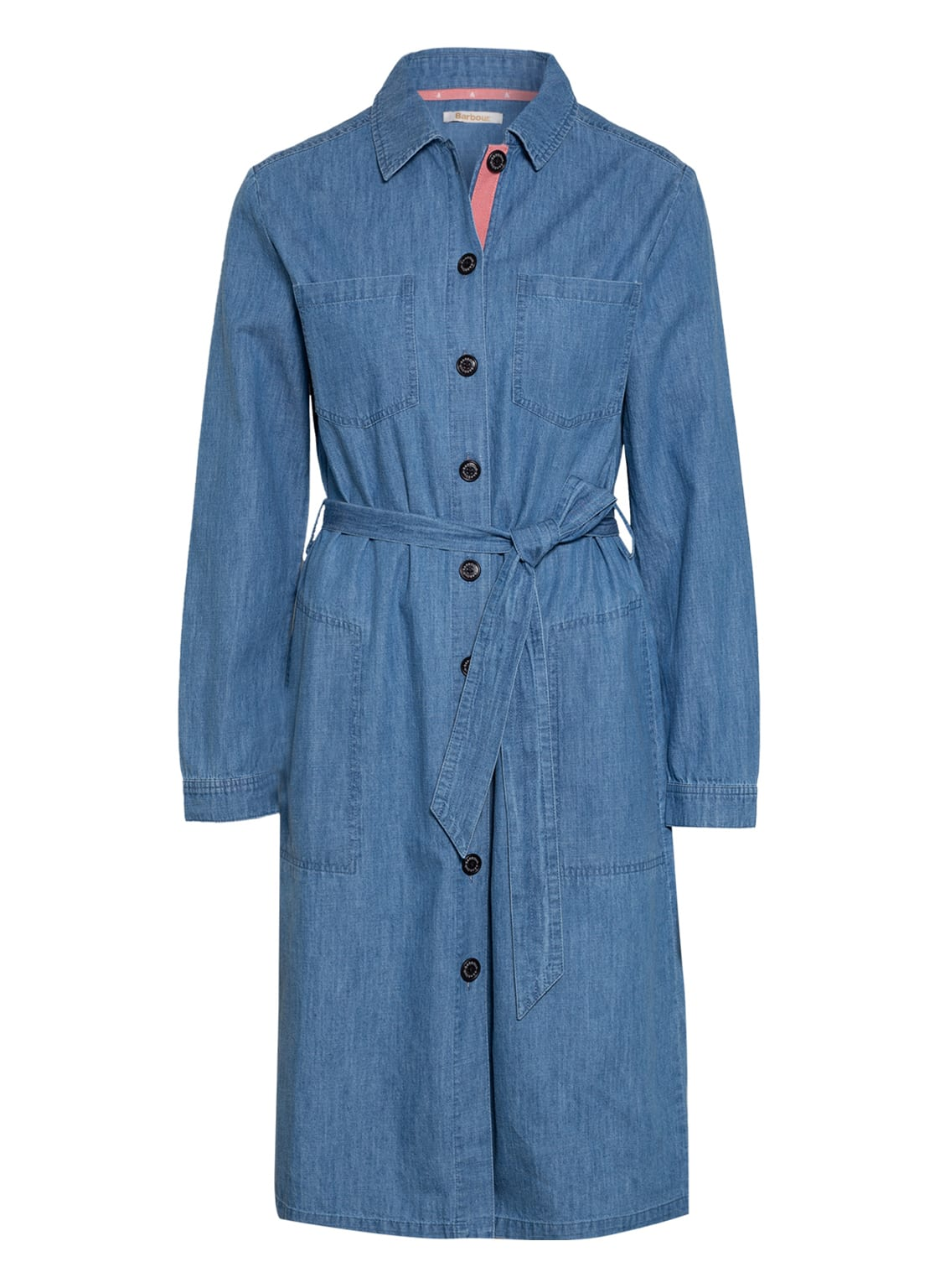Image of Barbour Hemdblusenkleid Tynemth blau
