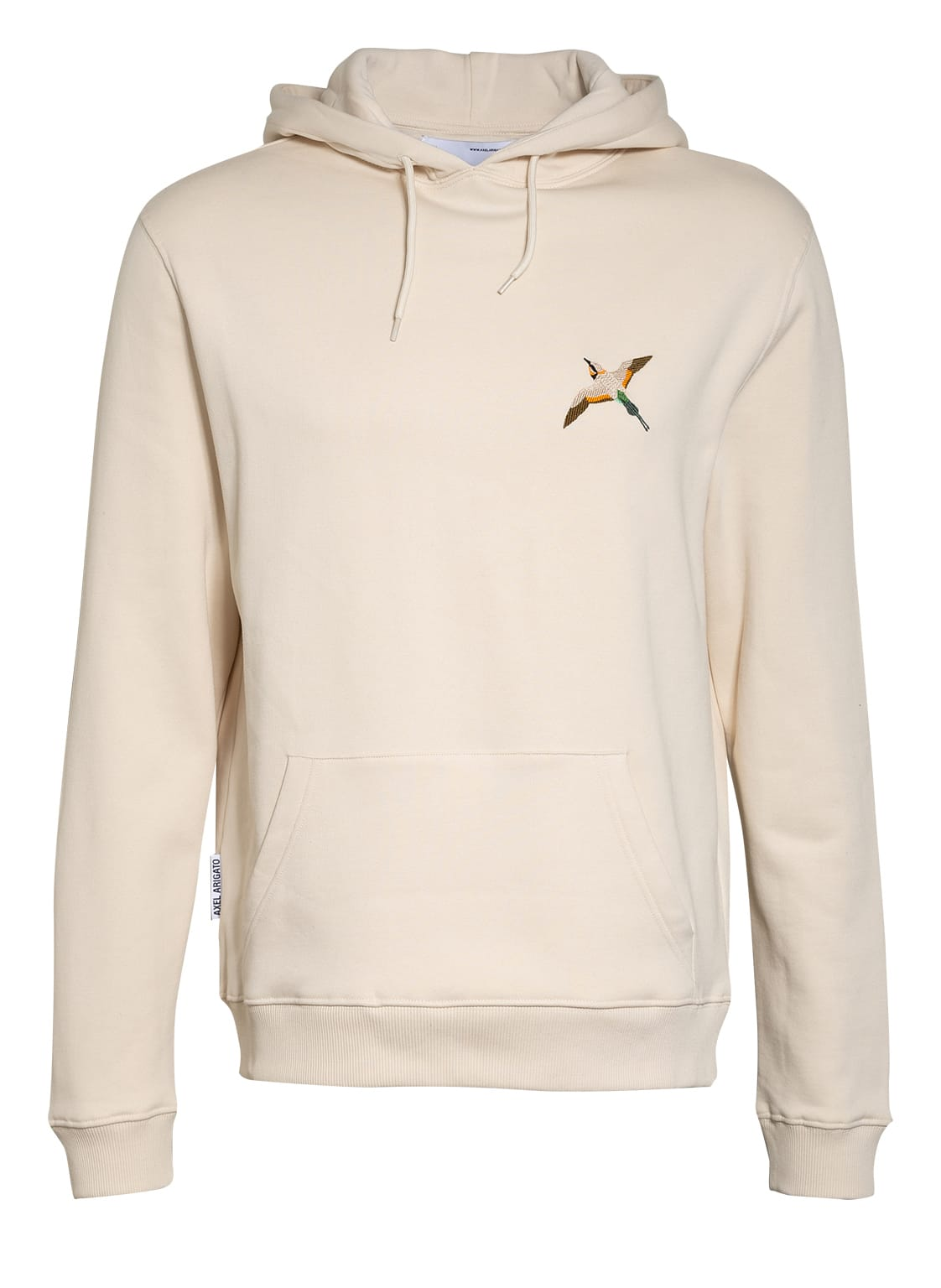Image of Axel Arigato Hoodie Single Tori Bird beige