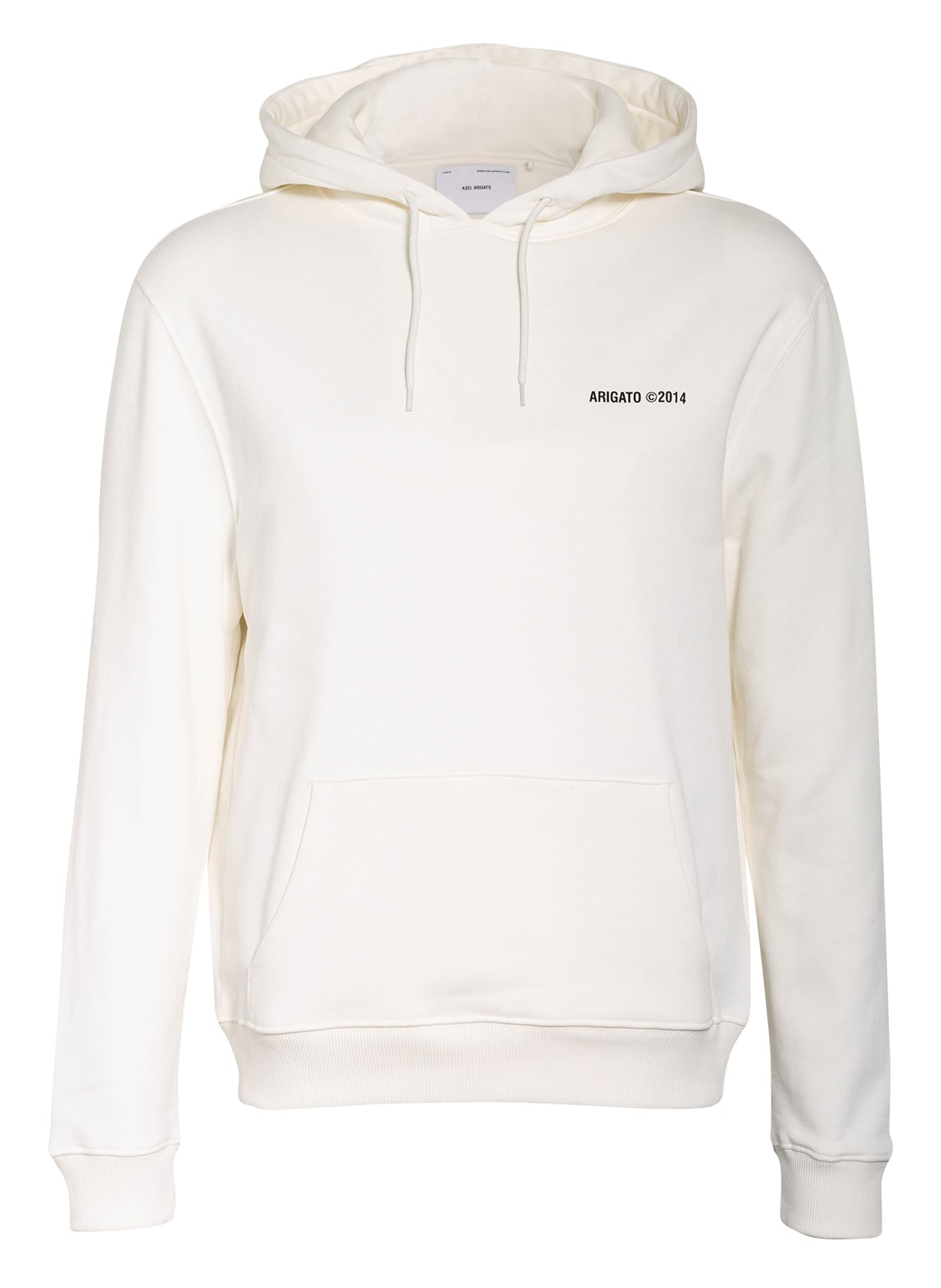 Image of Axel Arigato Hoodie London weiss