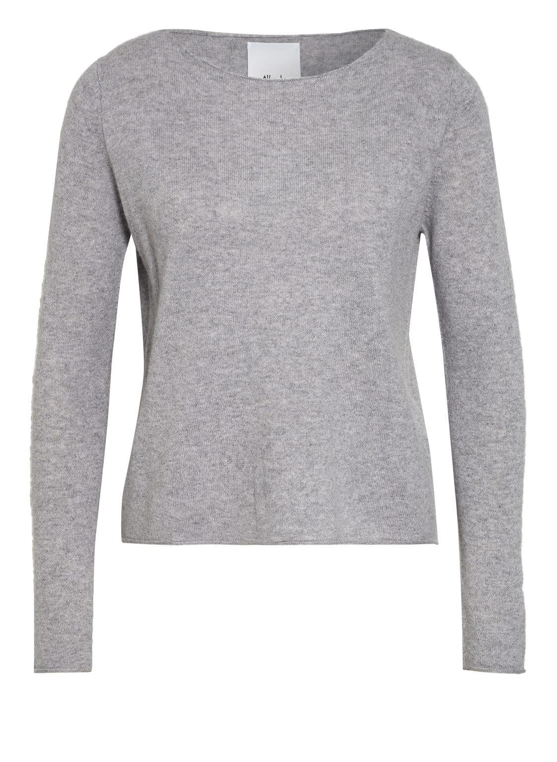 Image of Allude Cashmere-Pullover grau